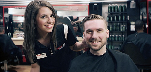 Sport Clips Haircuts of North Gate​ stylist hair cut